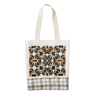 Abstract Pattern Zazzle HEART Tote Bag