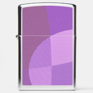 abstract pattern zippo lighter