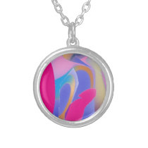 Abstract Patterned Design Silver Plated N