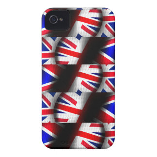 Abstract Patterned Union Jack iPhone 4 Case