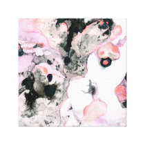 Abstract patterning canvas print