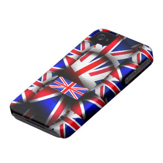Abstract Patternize Union Jack Blackberry Bold iPhone 4 Case-Mate Cases