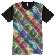 Abstract Patterns 4 All-Over Print T-shirt