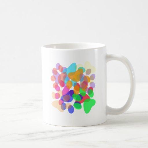 Abstract Paw Prints Mug I