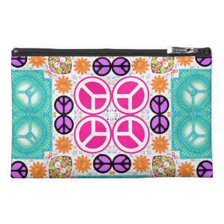 Abstract Peace Travel Accessories Bags