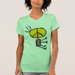 ABSTRACT PEACE DESIGN T-SHIRT