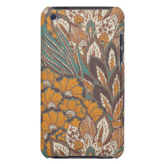 Abstract Peacock Feather Pattern Barely There iPod Cases