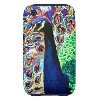 Abstract Peacock iPhone 3 Tough Case