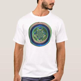 Abstract Peacock Mens T-Shirt