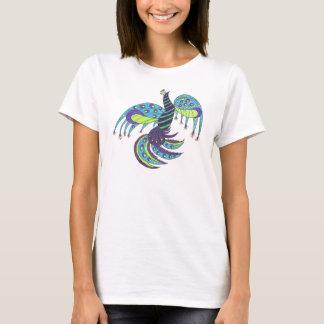 Abstract Peacock Shirt