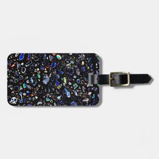 Abstract Pebble Bag Tag
