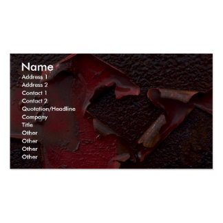 Abstract Peeling paint Double-Sided Standard Business Cards (Pack Of 100)