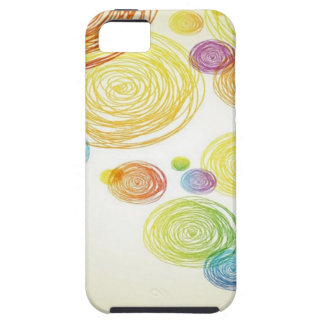 Abstract Pencil Scribble design iPhone 5 Case