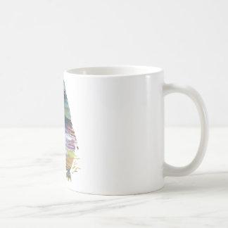 Abstract Penguin silhouette Coffee Mug