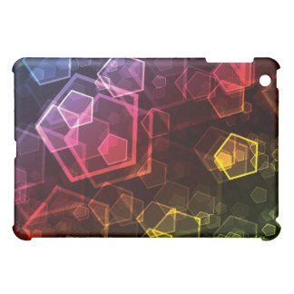 Abstract Pentagon iPad Case