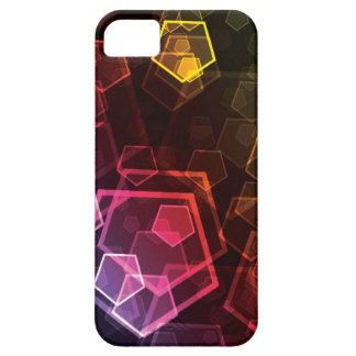Abstract Pentagon iPhone 5 Case