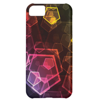 Abstract Pentagon iPhone 5C Cover