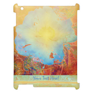 Abstract Peony Cover For The iPad