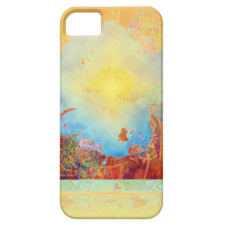 Abstract Peony iPhone 5 Case