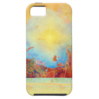 Abstract Peony iPhone 5 Covers