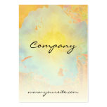 Abstract Peony Large Business Card