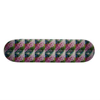 Abstract Peony Mandala Skateboard
