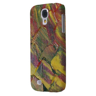 Abstract Pepper Plant Galaxy S4 Case