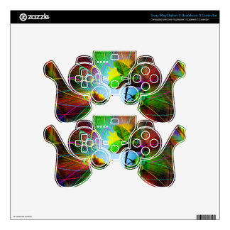 Abstract Perfection 28 PS3 Controller Decals