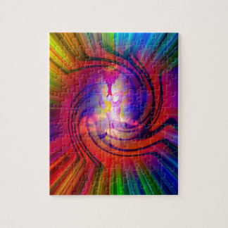 Abstract Perfection 30  Heavenly apparition Jigsaw Puzzle