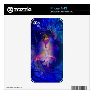 Abstract Perfection 31 Himmlisches Glück iPhone 4 Skin