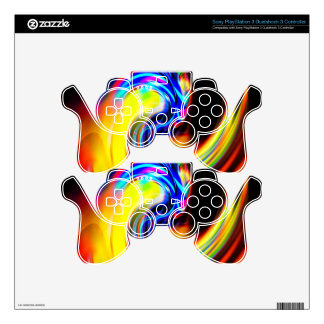 Abstract Perfection 32 PS3 Controller Skins