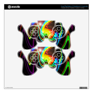 Abstract Perfection 4 Skins For PS3 Controllers