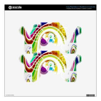Abstract Perfection 9 PS3 Controller Decals