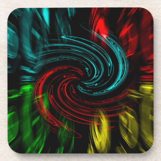 Abstract Perfection Pop Art Beverage Coaster
