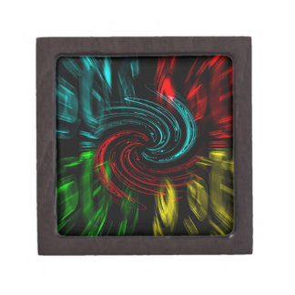 Abstract Perfection Pop Art Gift Box