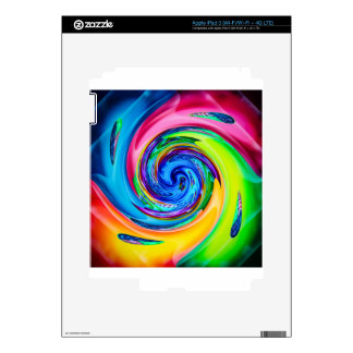 Abstract  Perfektion Pop Art 4 Decal For iPad 3