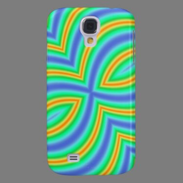 Abstract Pern Galaxy S4 Cases