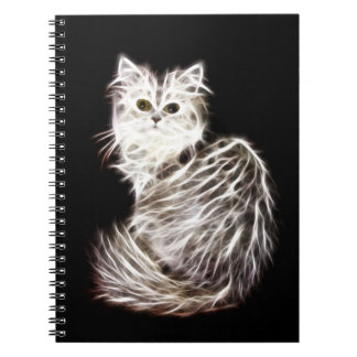 Abstract persian cat journal