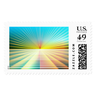 Abstract Perspective Postage