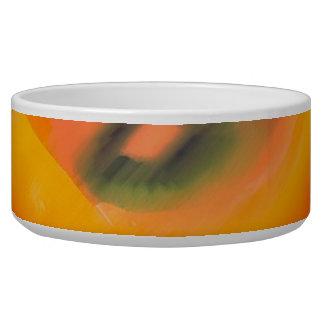 Abstract Pet Bowl