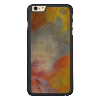 Abstract Petrified Wood close-up Carved Maple iPhone 6 Plus Case