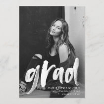 Abstract | Photo Graduation Announcements