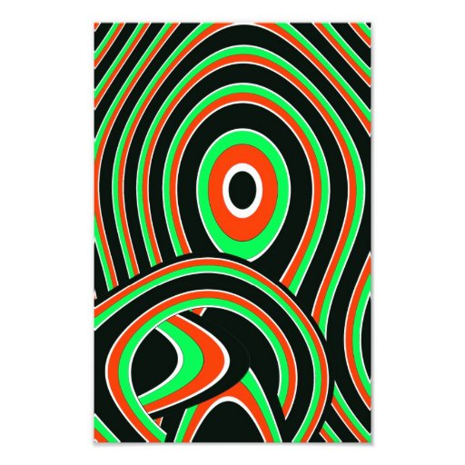 abstract photo print
