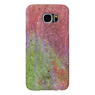 ABSTRACT/PHOTOG./DIG. EFFECTS/COLOR/PINK,GREEN,PUR SAMSUNG GALAXY S6 CASE