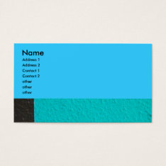 Abstract Photograph Business Card at Zazzle