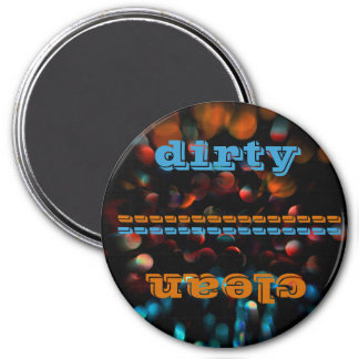 Abstract Photography 3 Inch Round Magnet