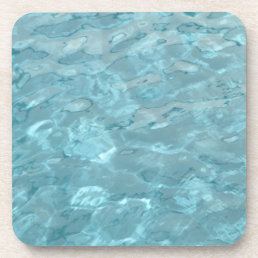 Abstract Photography Aqua Swimming Pool Water Drink Coaster