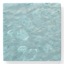 Abstract Photography Aqua Swimming Pool Water Stone Coaster