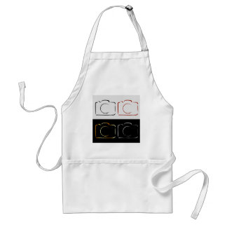 Abstract photography camera adult apron