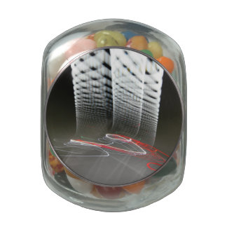 Abstract Photography Lights tunnel Glass Jars